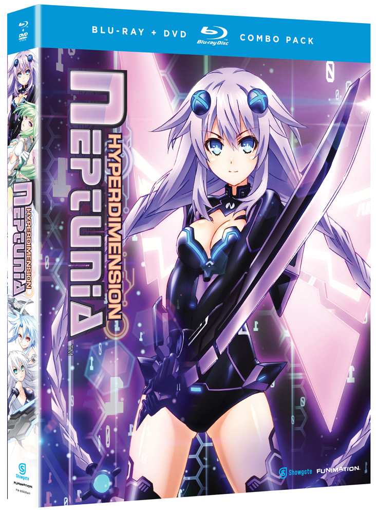Hyperdimension Neptunia Blu-ray/DVD 704400093319
