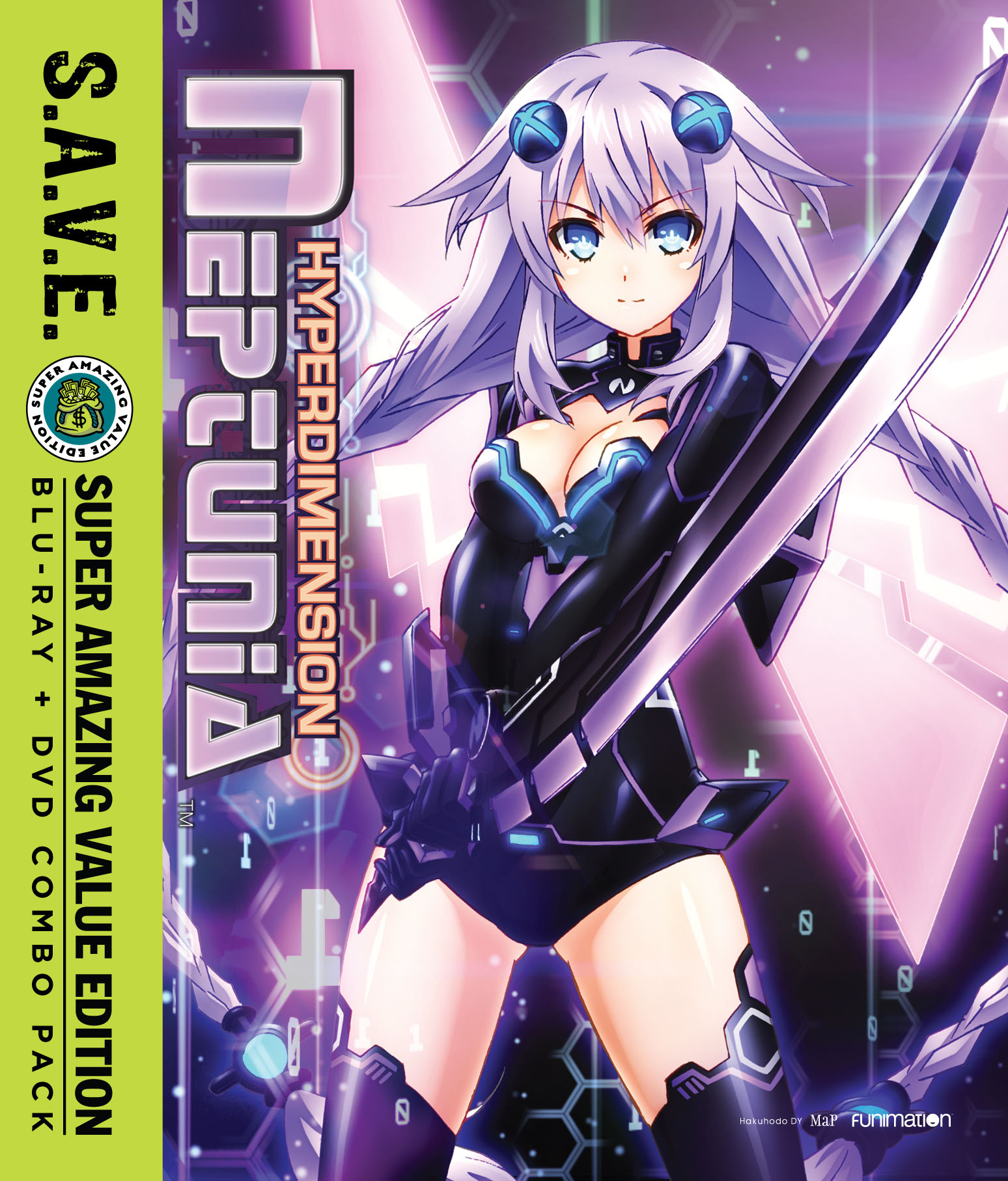 Hyperdimension Neptunia Blu-ray/DVD SAVE Edition 704400093326