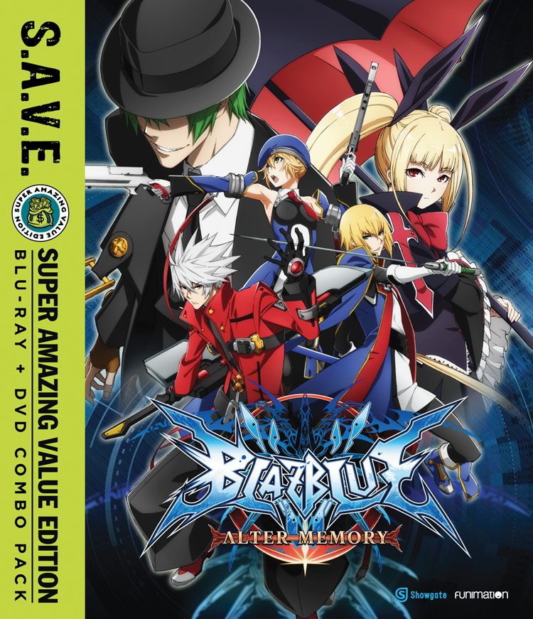 BlazBlue Alter Memory Blu-ray/DVD SAVE Edition 704400093425