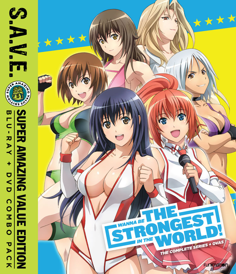 Wanna Be The Strongest in the World Blu-Ray/DVD SAVE Edition 704400093524