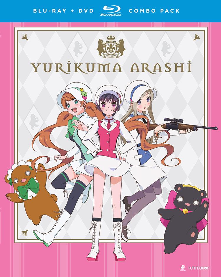 Yurikuma Arashi Blu-ray/DVD