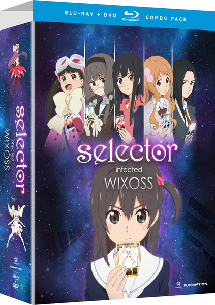 Selector Infected WIXOSS Limited Edition Blu-ray/DVD
