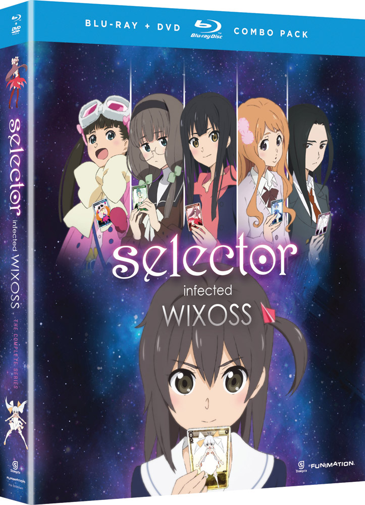 Selector Infected WIXOSS Blu-ray/DVD 704400093616