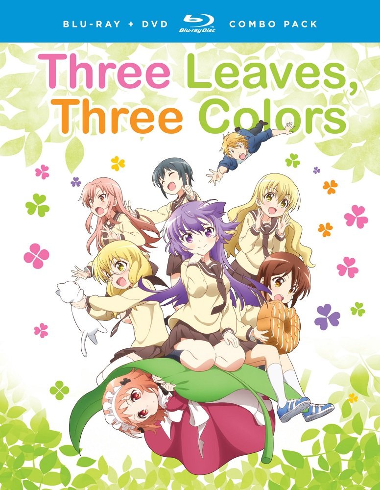 Three Leaves Three Colors Blu-ray/DVD 704400093654