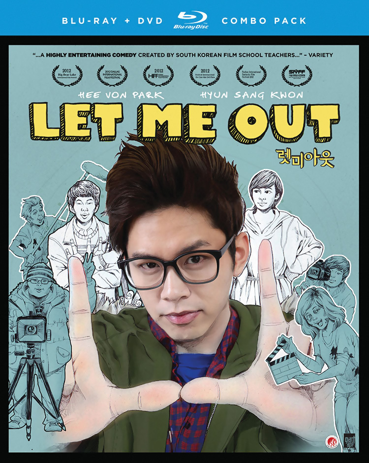 Let Me Out Blu-ray/DVD 704400094118