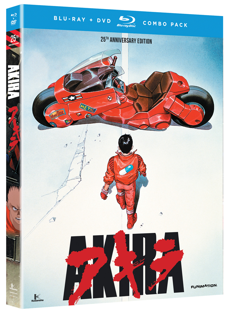 Akira 25th Anniversary Edition Blu-ray/DVD