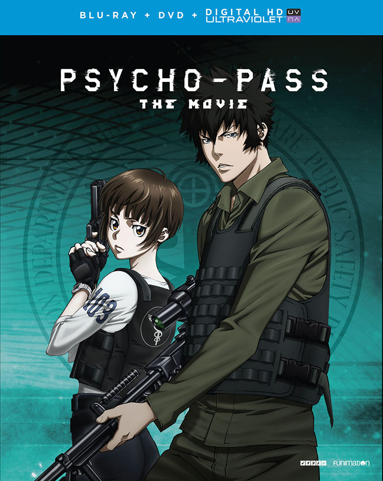 Psycho Pass The Movie Blu Raydvd