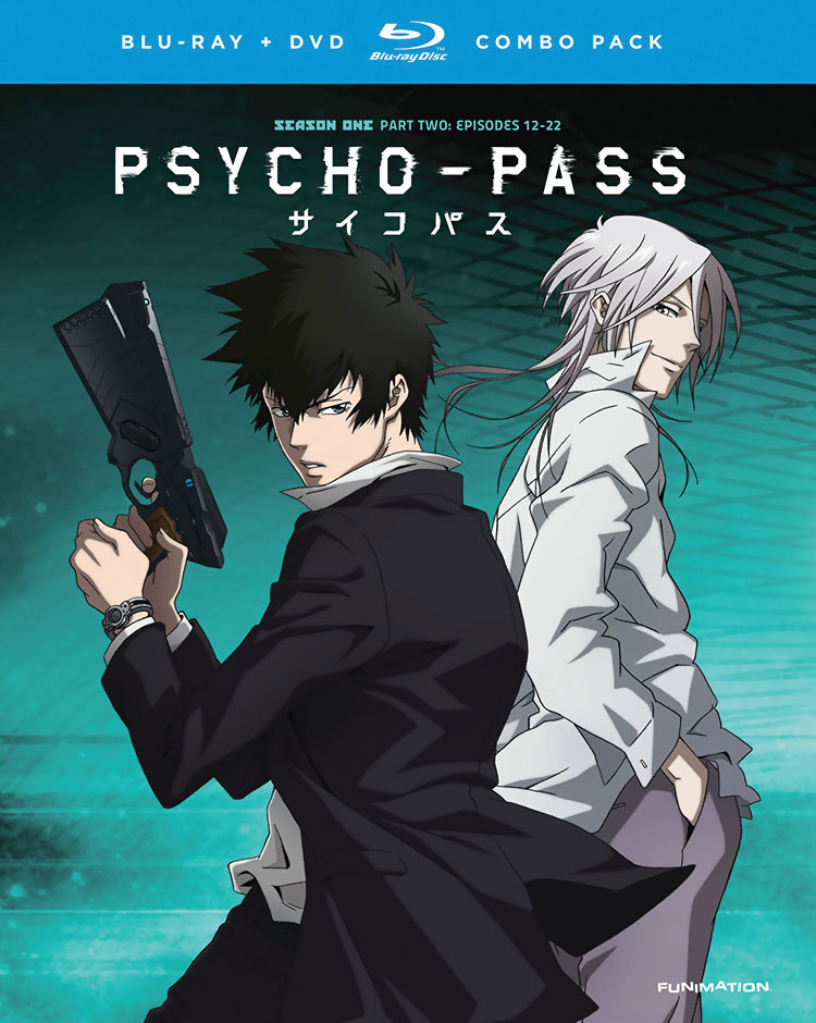 PSYCHO-PASS Season 1 Part 2 Blu-ray/DVD 704400094323