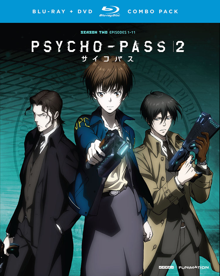 PSYCHO-PASS Season 2 Blu-ray/DVD 704400094354