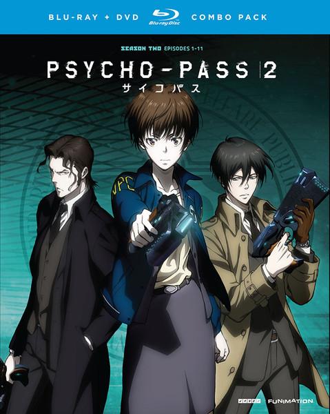 Psycho Pass Season 2 Blu Ray Dvd