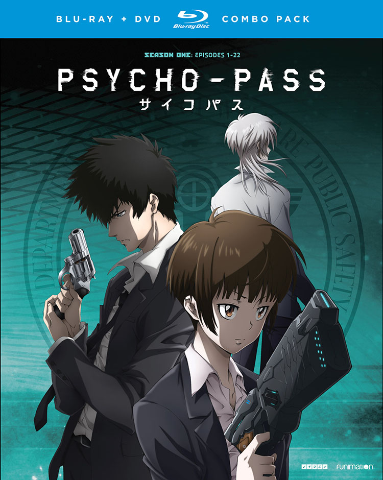 PSYCHO-PASS Season 1 Blu-Ray/DVD 704400094361