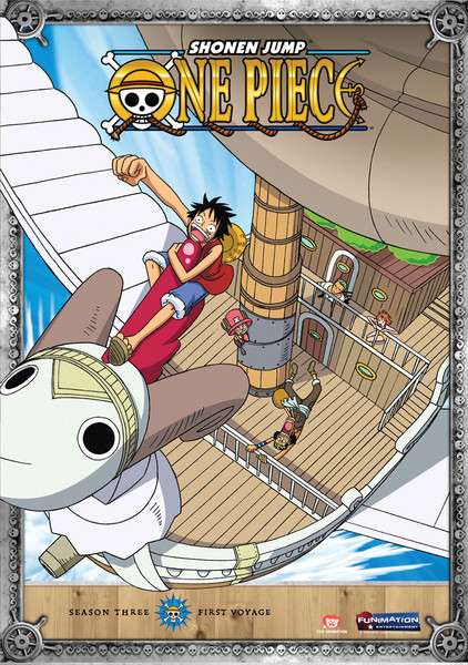 One Piece Season 3 Part 1 DVD Uncut