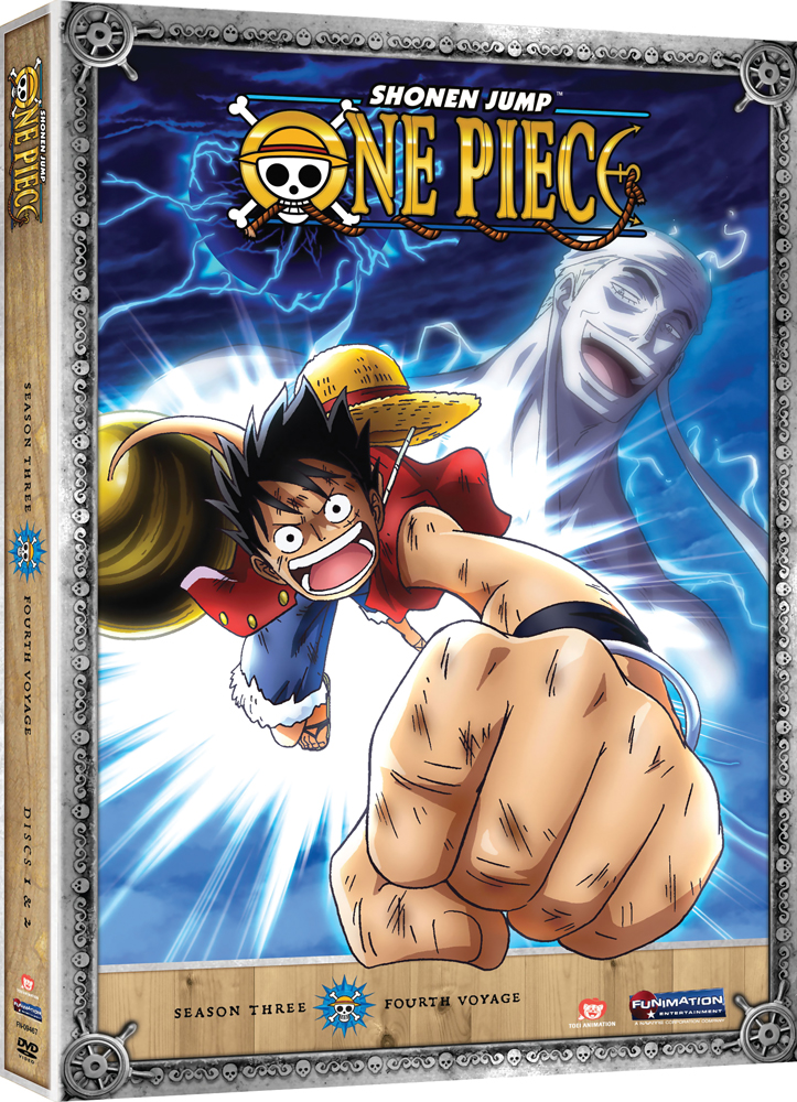 One Piece Season 3 Part 4 DVD Uncut 704400094675