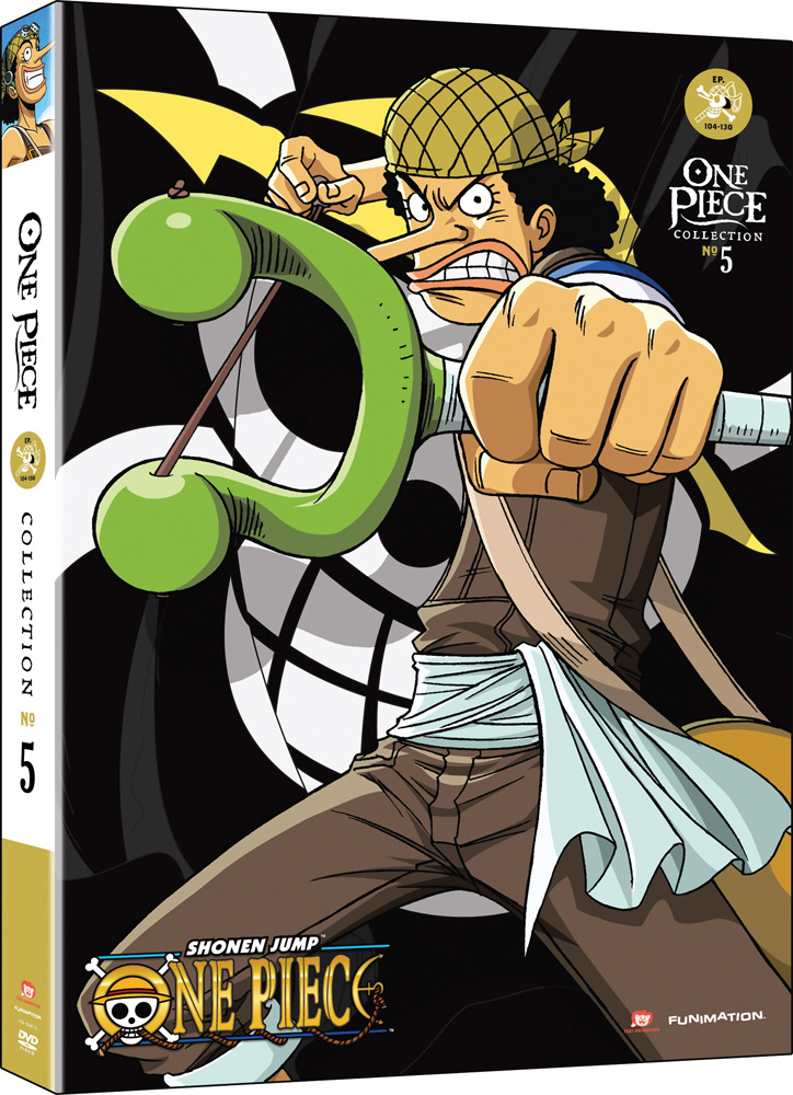 One Piece Collection 5 DVD Uncut 704400094736