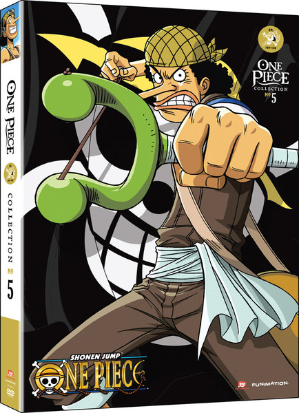 One Piece Collection 5 DVD Uncut