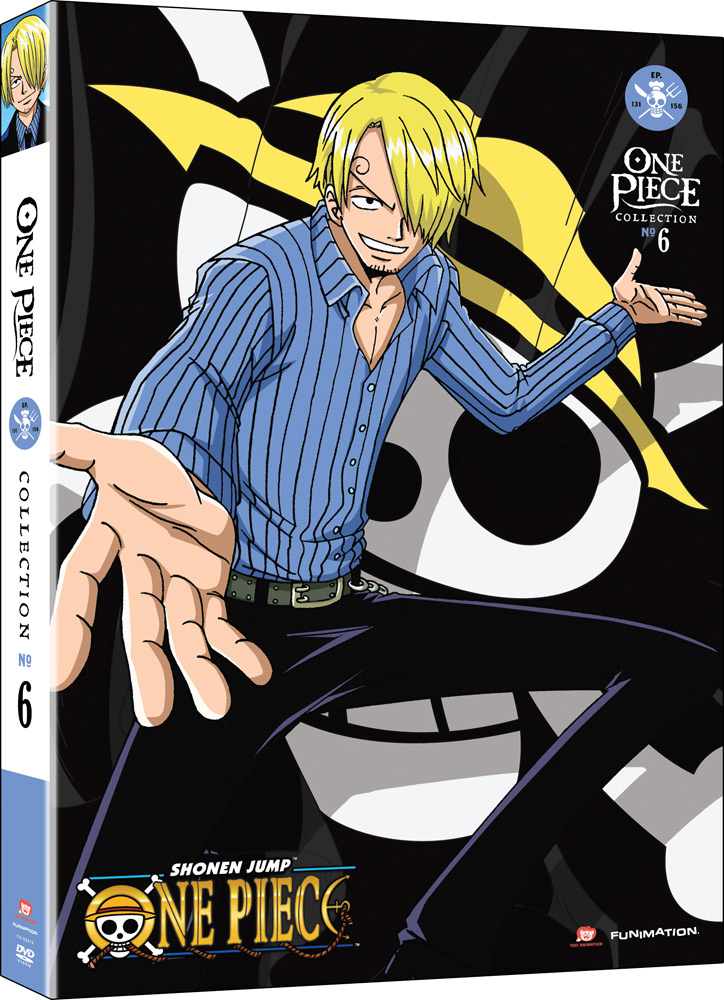 One Piece Collection 6 DVD 704400094750