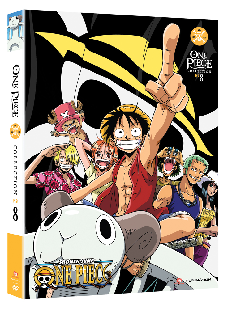 One Piece Collection 8 DVD Uncut 704400094781
