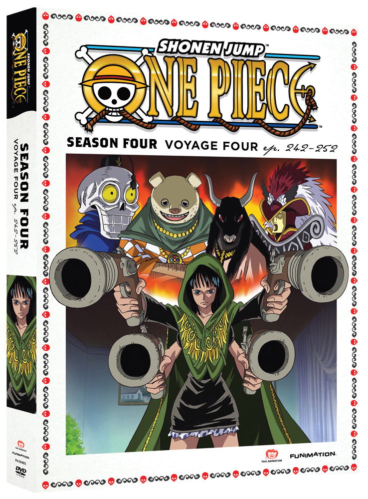 One Piece Season 4 Part 4 DVD Uncut 704400094835