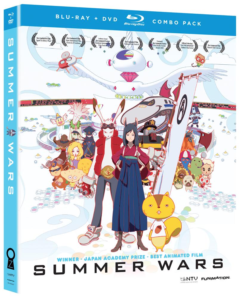 Summer Wars Blu-ray/DVD