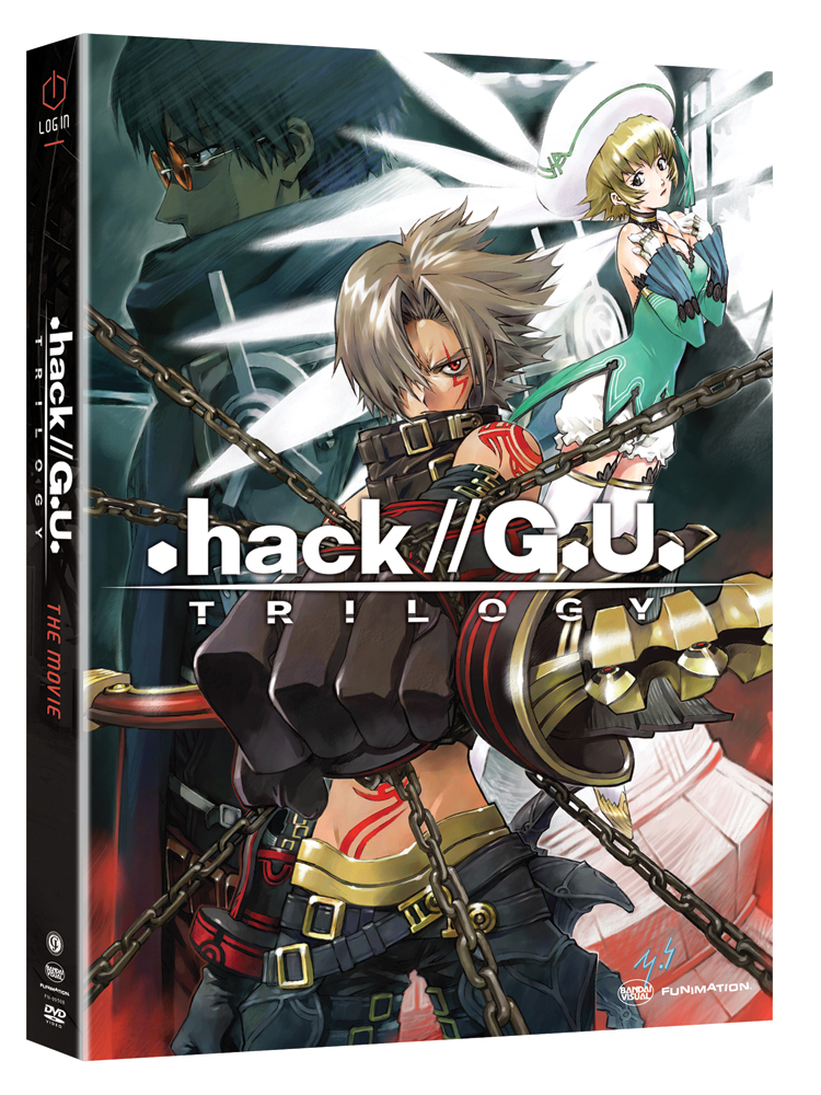 .hack//G.U. Trilogy The Movie DVD