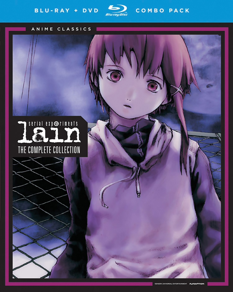 Serial Experiments Lain Blu-Ray/DVD Anime Classics