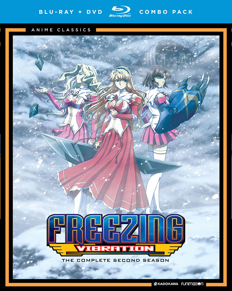 Freezing Vibration Blu-ray/DVD Anime Classics 704400095559