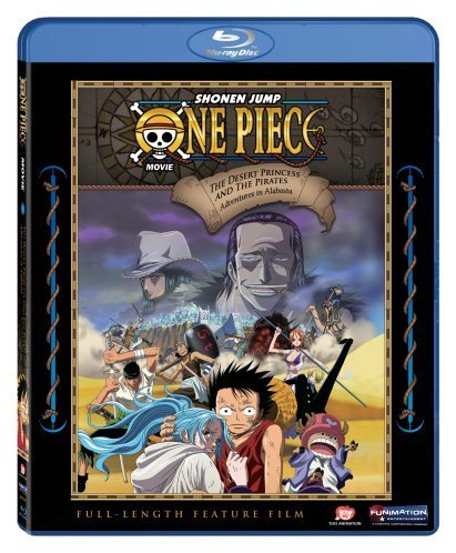 One Piece Movie 8 Episodes of Alabasta Blu-ray 704400095795