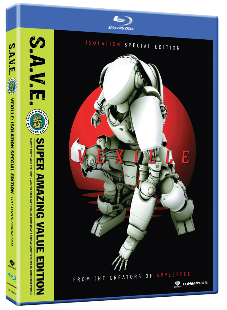 Vexille Special Edition Blu-ray SAVE Edition 704400096099