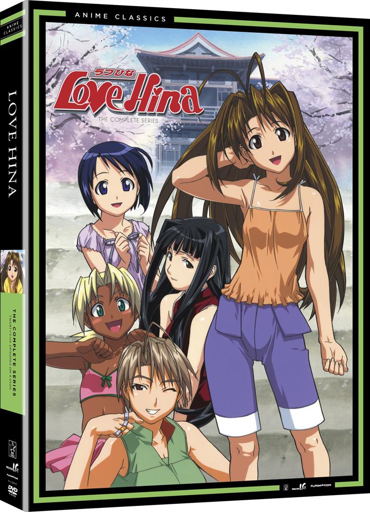 Love Hina Complete Series DVD Anime Classics