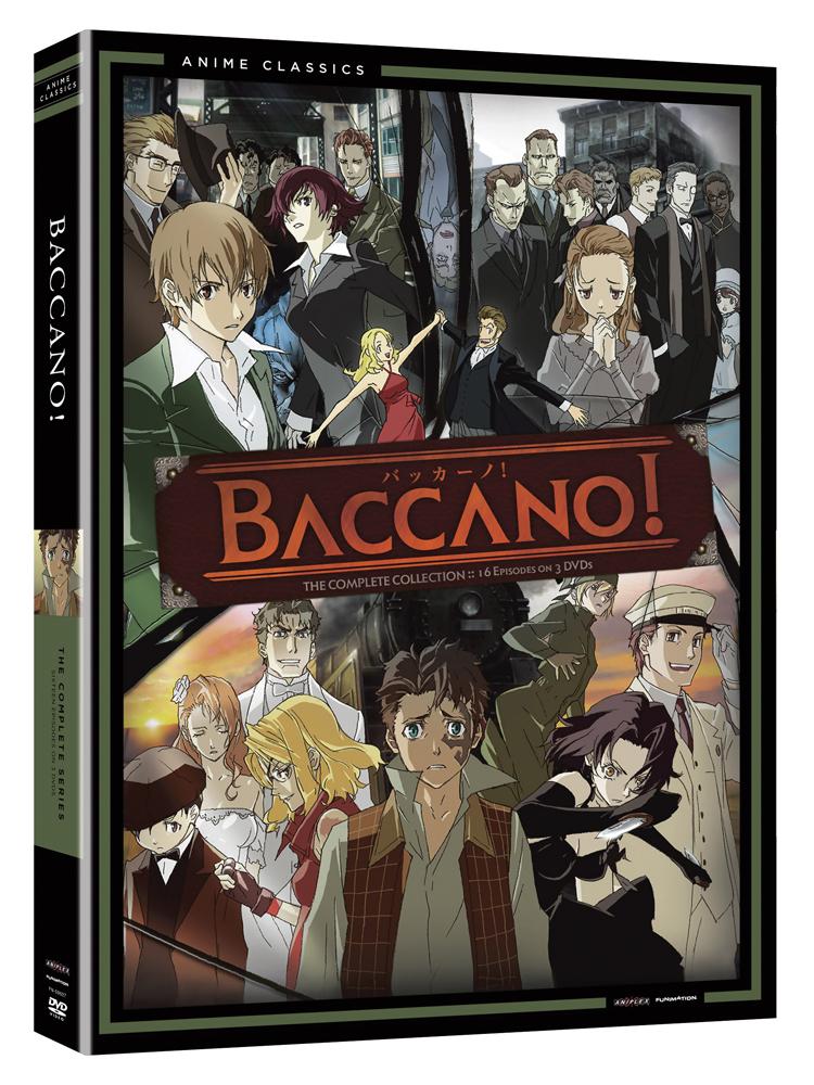 Baccano Complete Series DVD Anime Classics