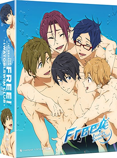 Free! Iwatobi Swim Club Season 1 Limited Edition Blu-ray/DVD