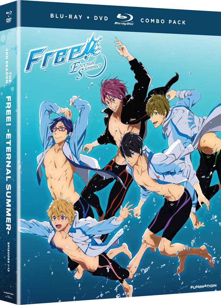 Free! Season 2 Eternal Summer + OVA Blu-ray/DVD 704400096440