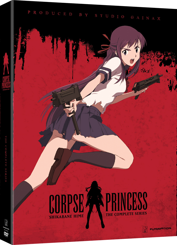 Corpse Princess Complete Series DVD 704400096723