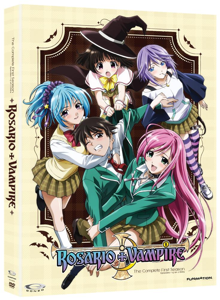Rosario+Vampire DVD