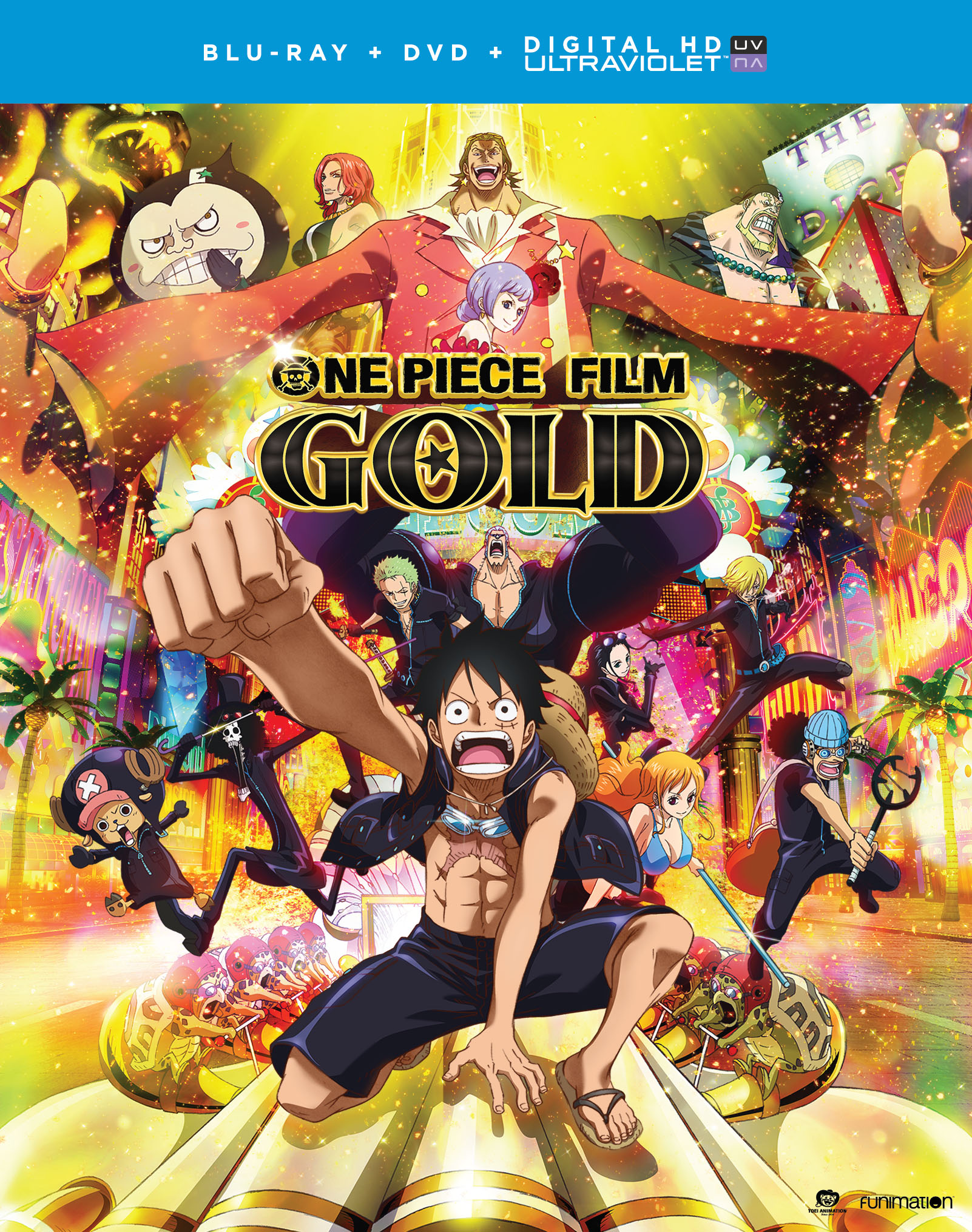 One Piece Film Gold Blu-ray/DVD Combo + UV 704400097003