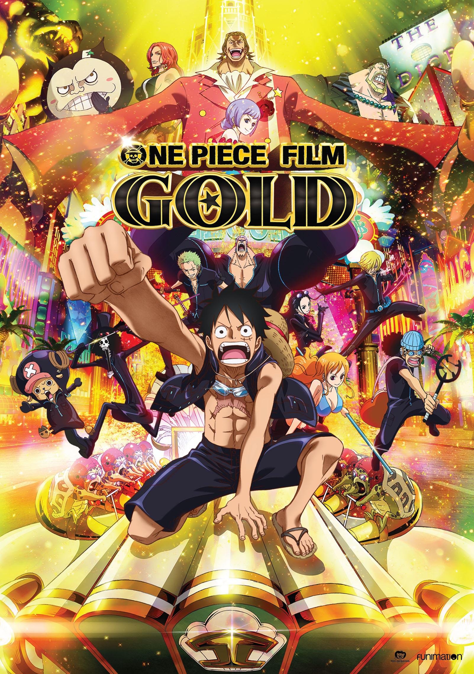 One Piece Film Gold Movie DVD 704400097027
