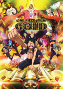 One Piece Film Gold Movie DVD