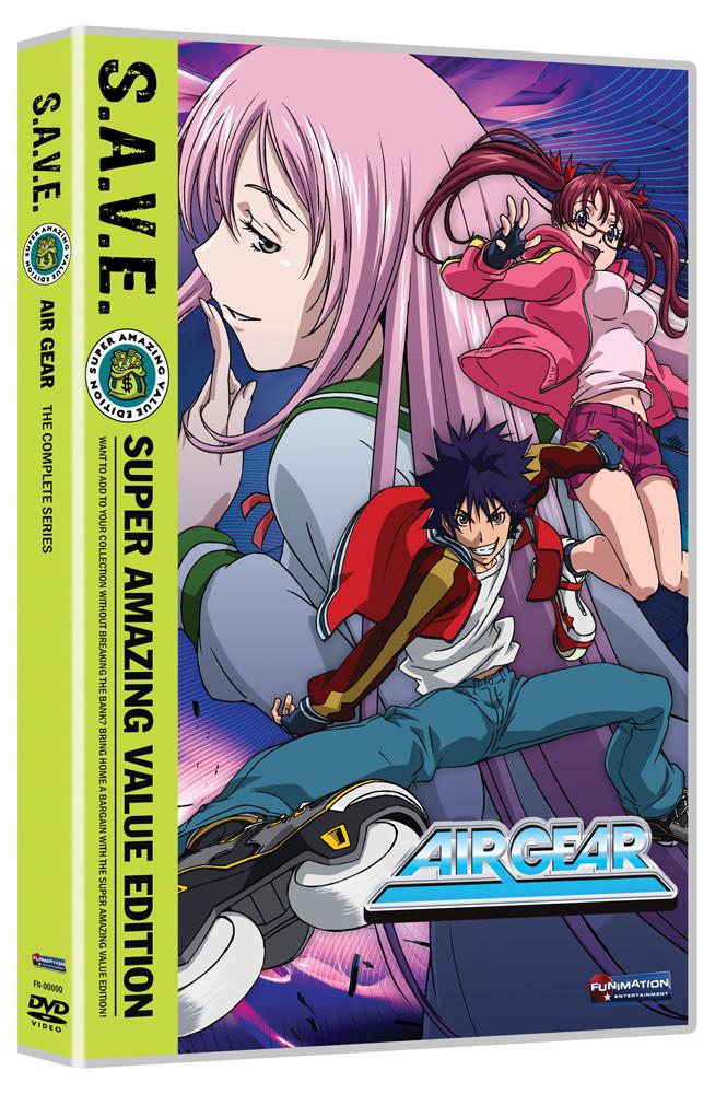 Air Gear Complete Series DVD S.A.V.E. Edition