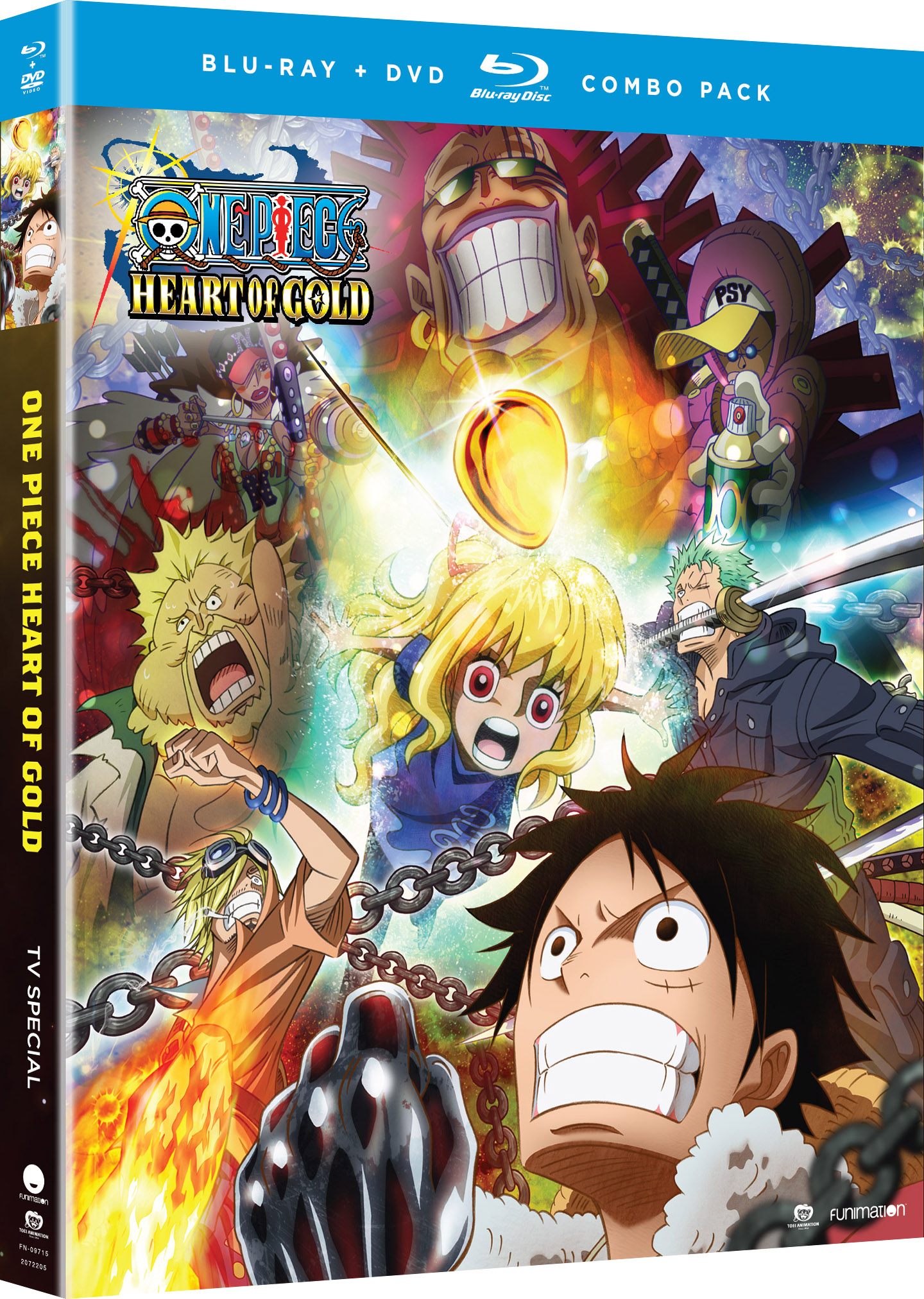 One Piece Heart of Gold TV Special Blu-ray/DVD 704400097157