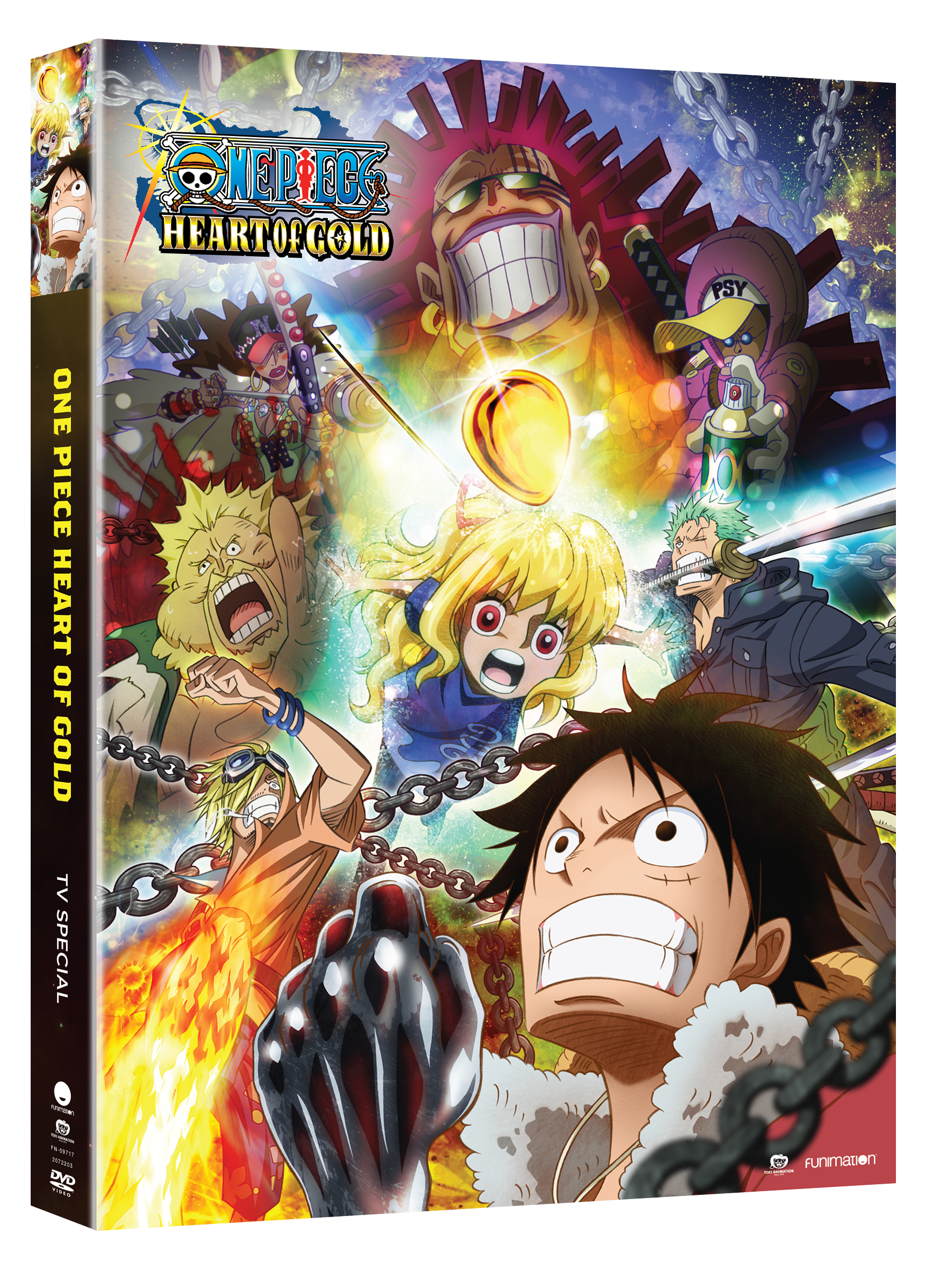 One Piece Heart of Gold TV Special DVD
