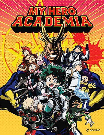 My Hero Academia Season 1 Limited Edition Blu-ray/DVD 704400097249