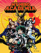My Hero Academia Season 1 Limited Edition Blu-ray/DVD