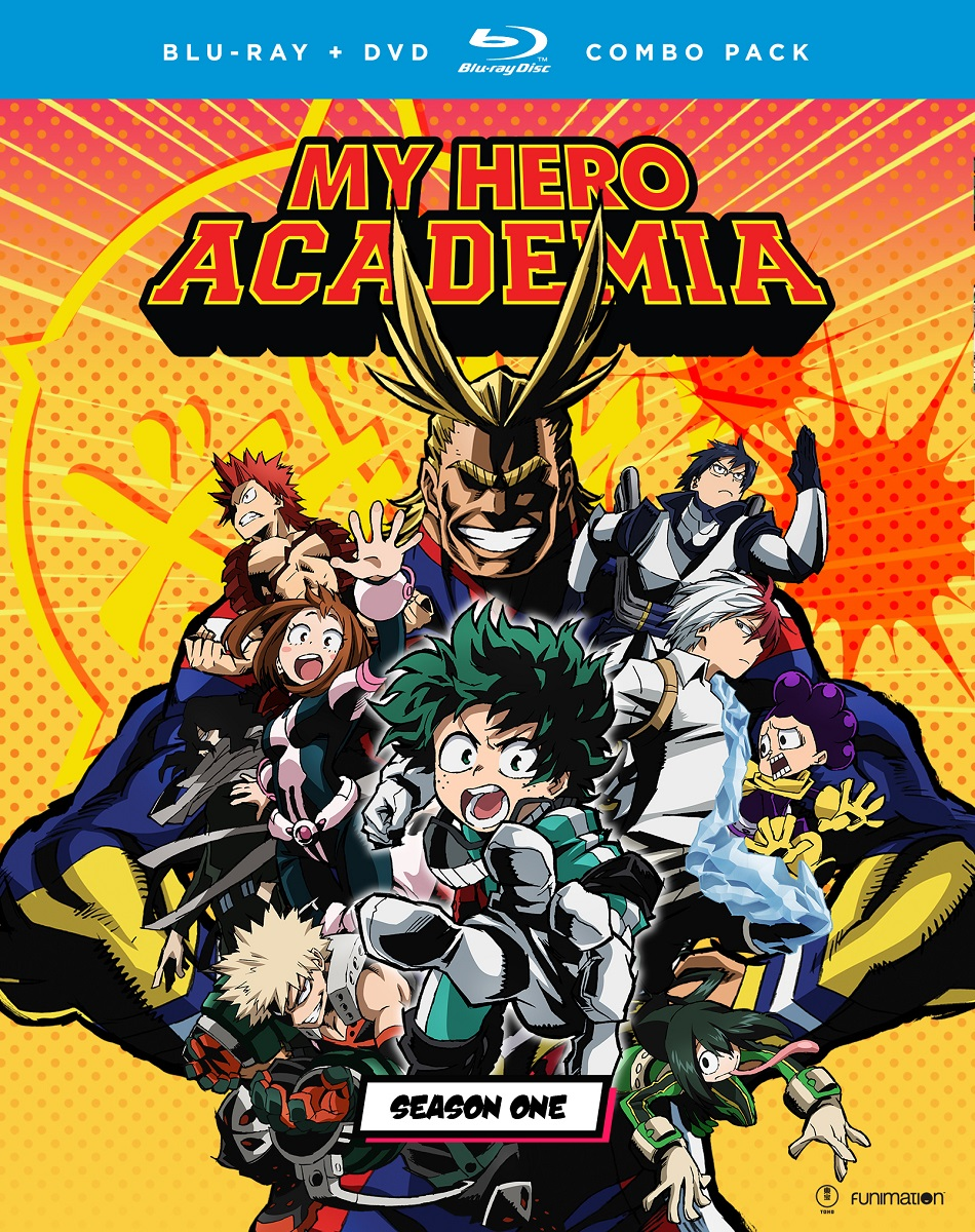 My Hero Academia Season 1 Blu-ray/DVD 704400097256