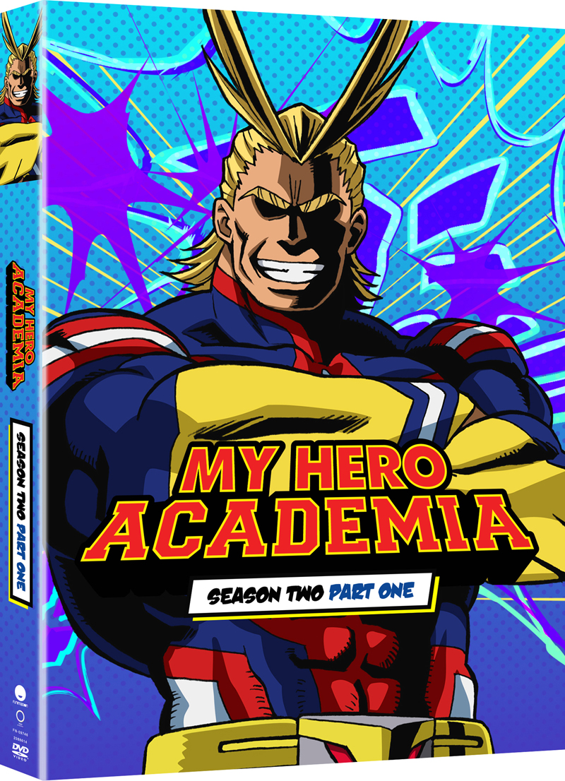 My Hero Academia Season 2 Part 1 Limited Edition Blu-Ray/DVD 704400097270