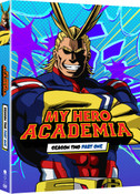 My Hero Academia Season 2 Part 1 Limited Edition Blu-Ray/DVD
