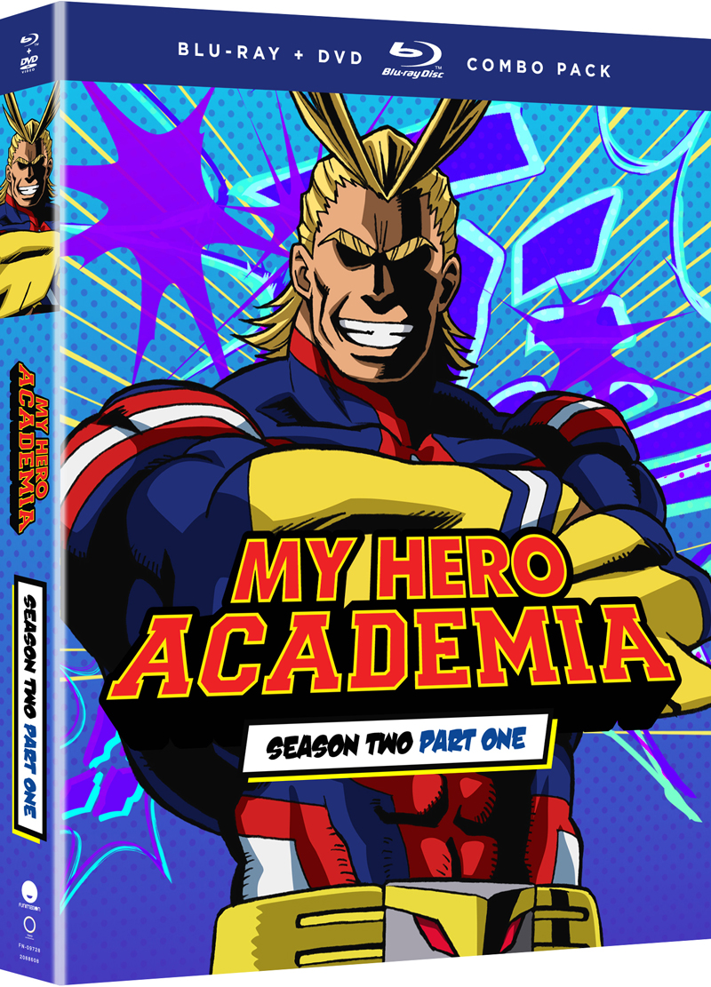 My Hero Academia Season 2 Part 1 Blu-ray/DVD 704400097287