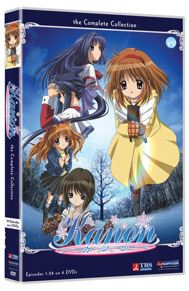 Kanon DVD Complete Collection SAVE Edition