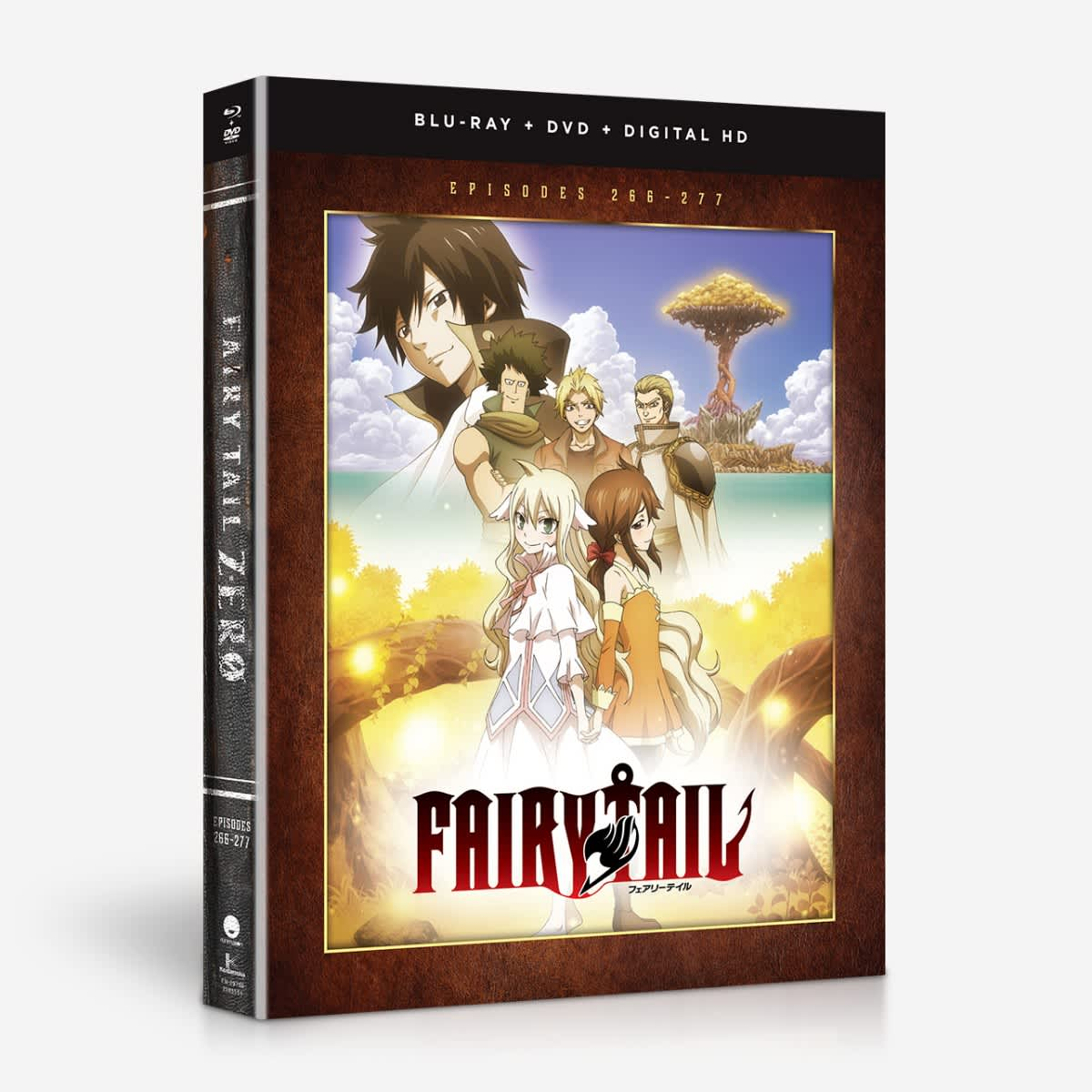 Fairy Tail Zero Blu-ray/DVD