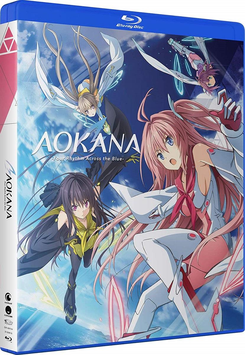AOKANA Four Rhythm Across the Blue Blu-ray