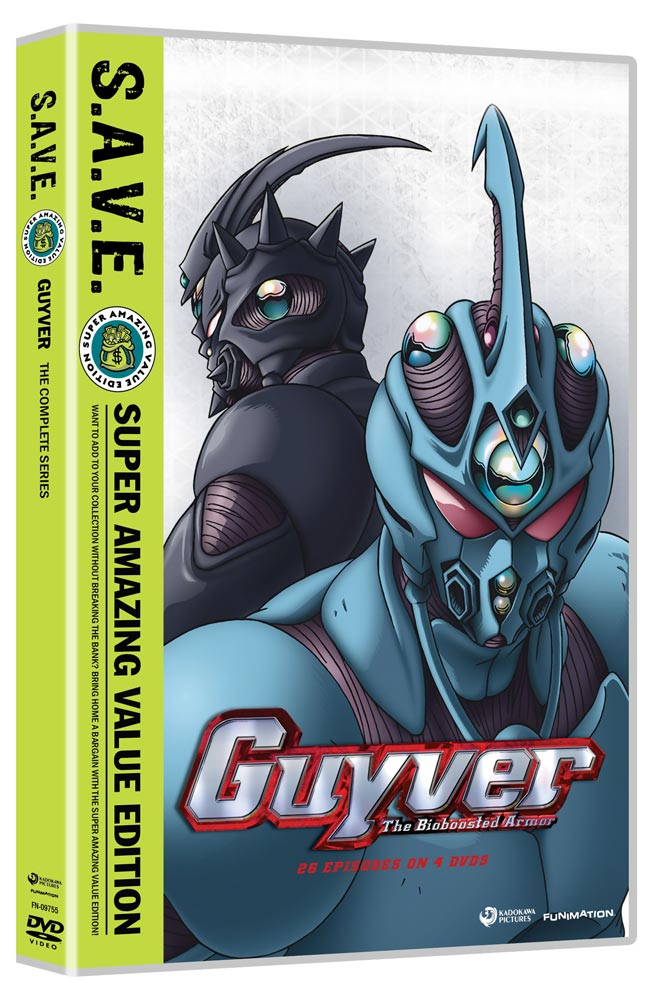 Guyver Complete Series DVD SAVE Edition 704400097553